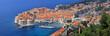 Leinwandbild Motiv Dubrovnik panorama