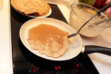 Flaxseed meal pancake