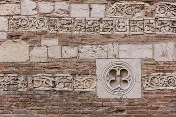 Particolare muro medioevale
