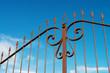cancello di ferro, carpenteria