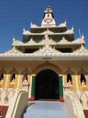 Templo budista en Mingun (Myanmar)