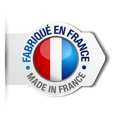 Sticker fabrication française