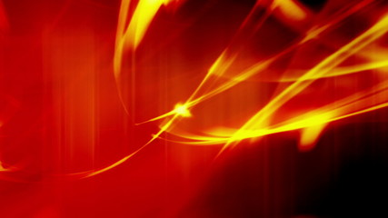 Abstract Background Red and Orange Wisps Looping