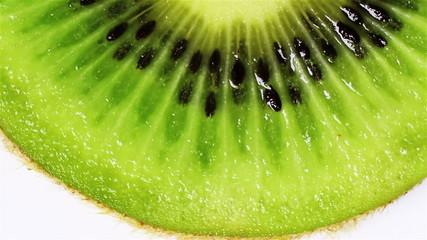 Rotating kiwi, macro