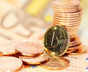 European money euro background