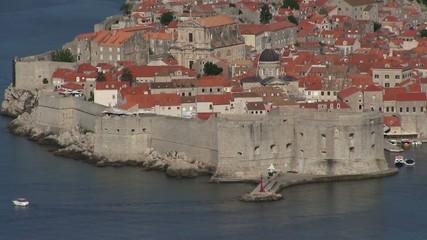 Dubrovnik twierdza Chorwacja