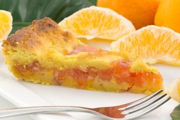 crostata con marmellata di arancia
