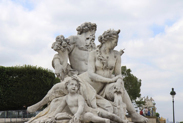 A Statue at Jardin des Tuileries
