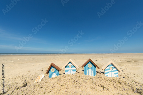 Foto op Canvas Strand Summer beach