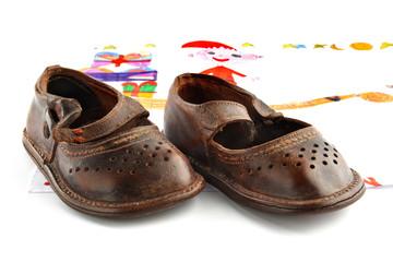 scarpette bimbo antiche