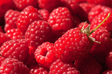 juicy raspberry texture