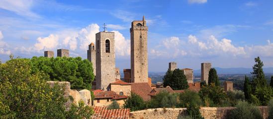 Toscana,San Gimignano.