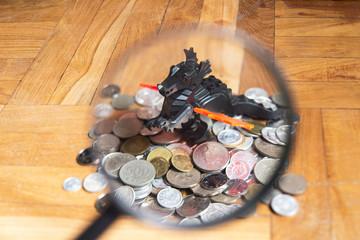 dragon guarding wealth