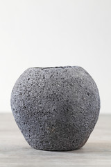 Antique art ceramic jar