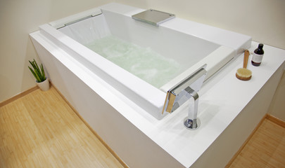 Stylish bathroom interior