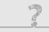 Question mark from gears - 78293993