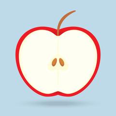 apple isolated on background