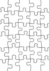 Puzzle background illustration