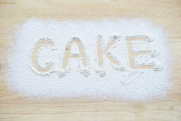 CAKE word
