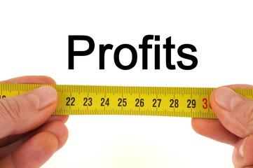 Mesure des profits