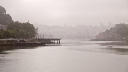 Porto misty morning