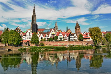 Panorama von Ulm