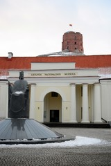 Vilnius National museum and Castle Tower