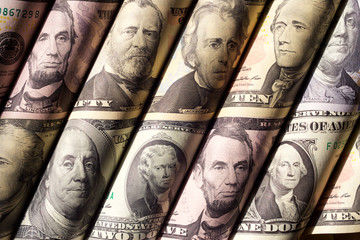 Money or Portraits of Presidents