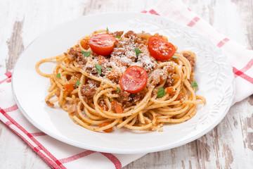 Italian pasta - spaghetti bolognese