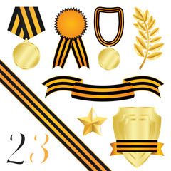 Collection Of Elements Of Design For Congratulations On 23