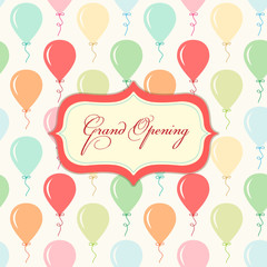 Grand opening card 2