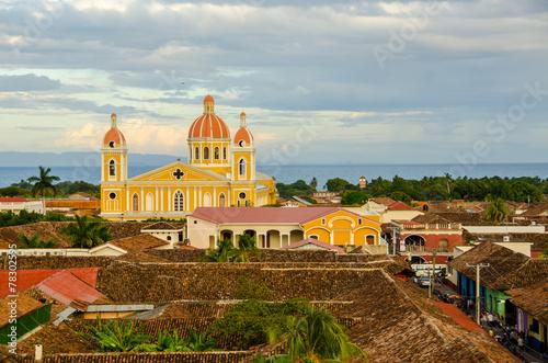 Tuinposter Centraal-Amerika Landen Granada - Nicaragua