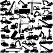 construction machine big collection - vector - 78303147
