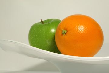 Sinaasappel en appel