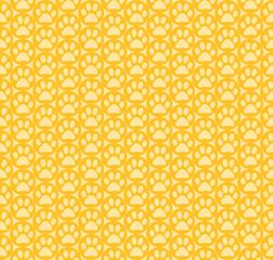 黄色の肉球壁紙