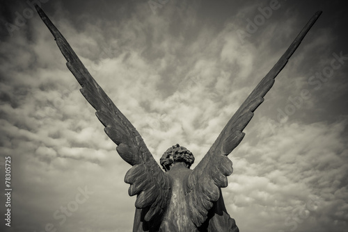 Foto op Canvas Standbeeld guardian angel