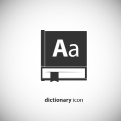 dictionary book icon