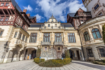 Peles Castle Museum, Sinaia, Romania