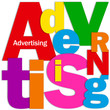 ADVERTISING Letter Collage (marketing publicity products prices)