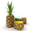 Cubic pineapple