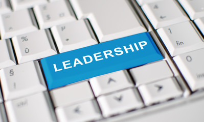 Leadership key on laptop keyboard