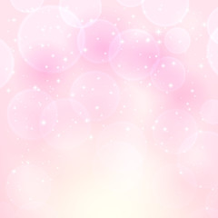 Starry pink background