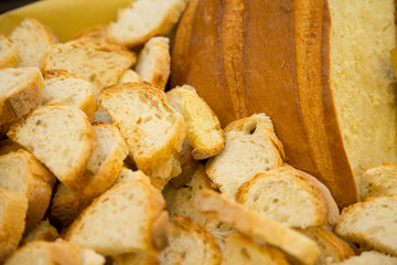 Pane artigianale a fette