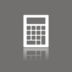 Icono calculadora FO reflejo