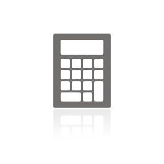 Icono calculadora FB reflejo
