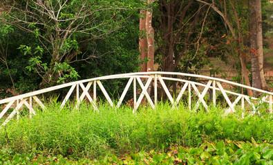 A classic arch bridge  Riverwalk  - Stock Image