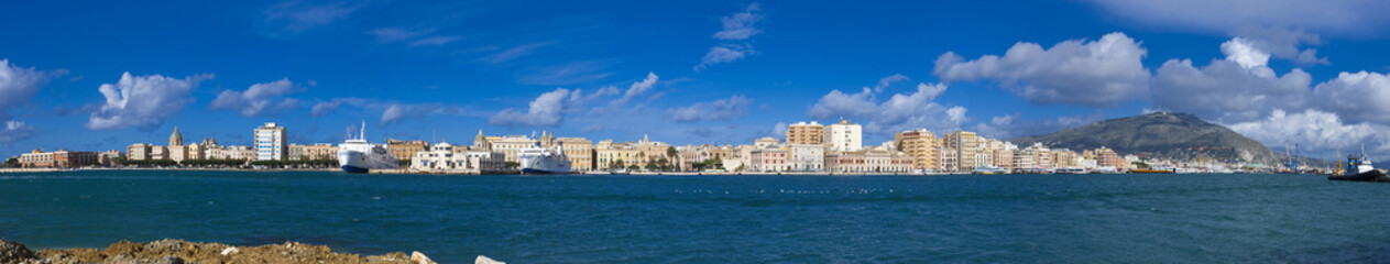 panoramica trapani porto