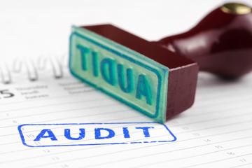 Audit stamp on a scheduler