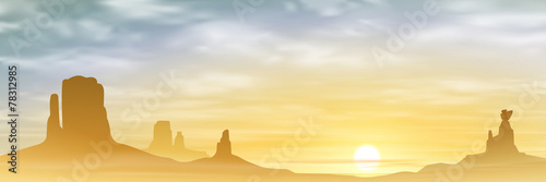 A Desert Landscape - 78312985