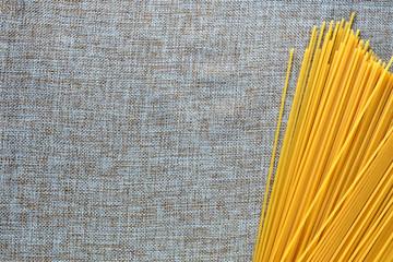 various types of Italian pasta spaghetti